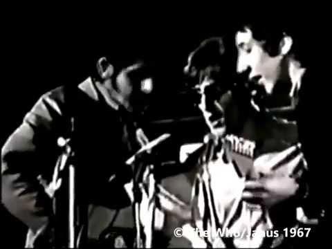 The Who at De Lane Lea Studios in Soho, London in March 1967