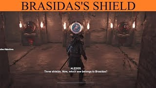 AC Odyssey The Fate Of Atlantis: Forgotten Sepulchre Puzzle - The Weight of Sparta