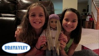 Opening Julie And Tips On Making An American Girl Doll Bed (wk 187.5) | Bratayley
