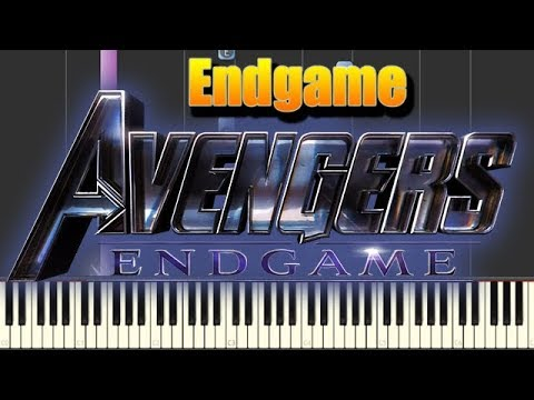 ? Official Trailer music - Avengers: Endgame [Piano Tutorial] thumbnail