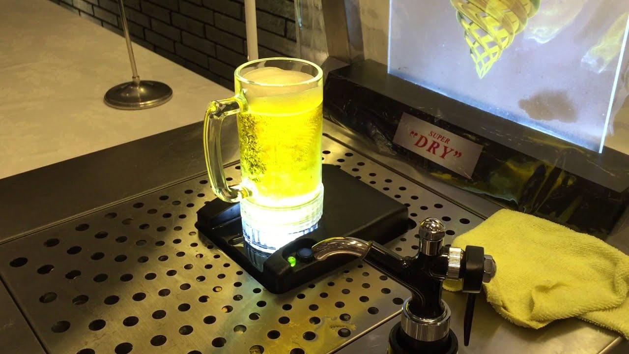 【延岡市】カップの底からビールが湧き上がるビールサーバー ...