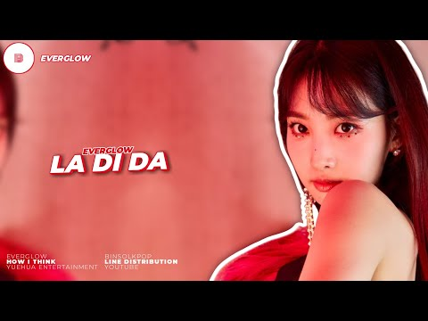 """How I Think """"EVERGLOW"""" LADIDA will be like 