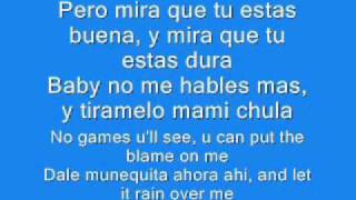 Pitbull - Rain over me Lyrics