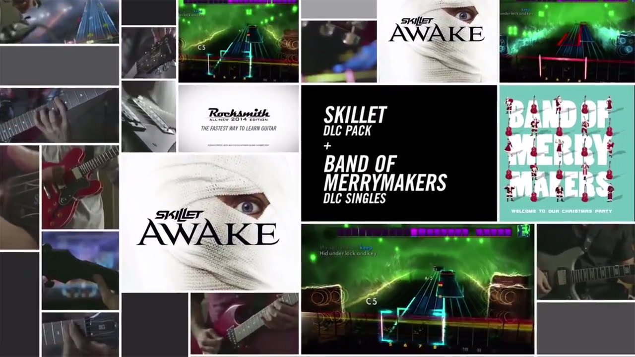 rocksmith 2014 edition dlc skillet song pack band of merrymakers singles youtube. Black Bedroom Furniture Sets. Home Design Ideas