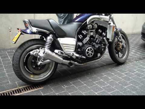 V-max1200 with DAM - Super Max Exhausts