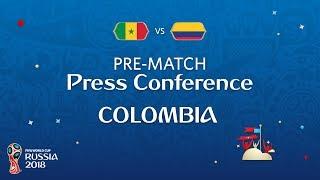 fifa world cup 2018 sen vs col colombia - pre-match press conference