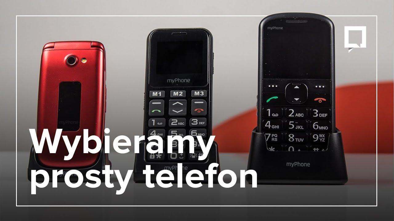 a7dd85f28789ef Prosty telefon dla babci lub dziadka - jaki wybrać? - YouTube