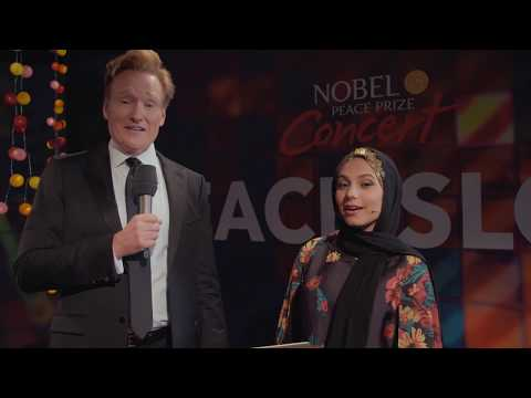 Fly With Haifa interviews Conan O´Brien  - PEACEISLOUD