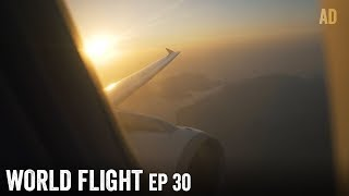 FLYING BACK TO AUSTRIA - World Flight Episode 30