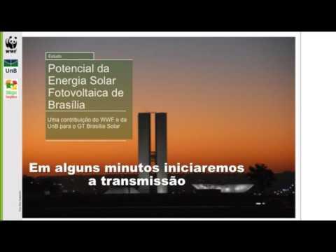 DIÁLOGOS  ENERGÉTICOS - POTENCIAL DA ENERGIA SOLAR FOTOVOLTAICA DE BRASÍLIA