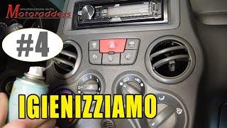 IGIENIZ. #4 - Igienizziamo col prodotto la Fiat Panda 169