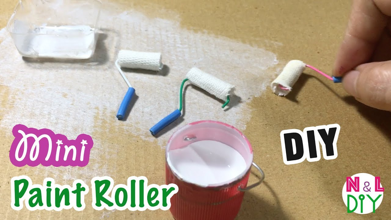 Paint Roller & Tray Overig DOLLS HOUSE
