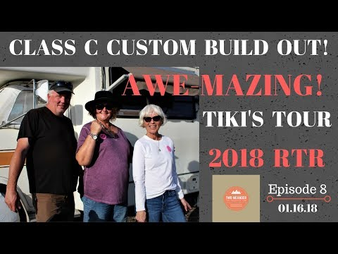 E8 Tiki's Tour - Must See 1984 Champion Flagship Chevy RV Remodel - RTR 2018
