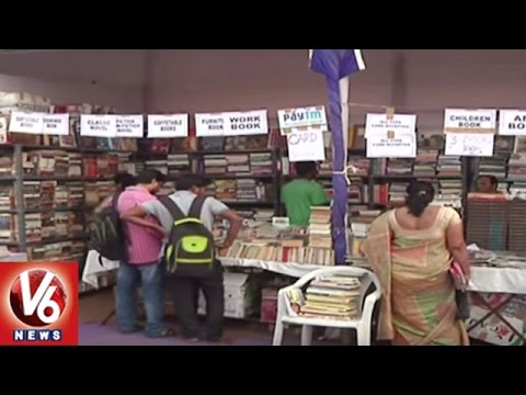 Special Story On 30th Hyderabad National Book Fair 2016 | V6 News