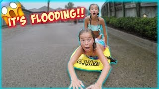 WE TOLD THEM NOT TO DO IT!! THEY WENT BOOGIE BOARDING IN A STORM!