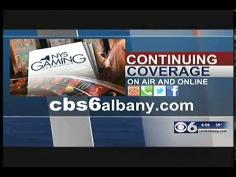 CBS 6 Albany -- Casino and Fracking Decision 6pm Newscast