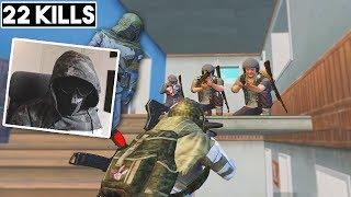 PLAYING PUBGM AS THE OBSERVER! | 22 KILLS SOLO vs SQUAD