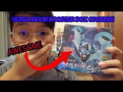 POKEMON CARDS||ULTRA MOON BOOSTER BOX OPENING!!!||AMAZING PULLS!