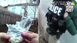Cop appears to place drugs at a crime scene | New York Post