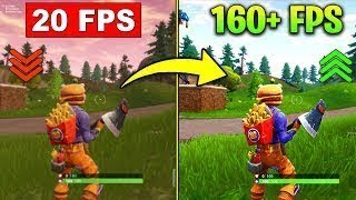 FORTNITE - COMMENT BOOST VOTRE FPS (GET NO LAG) - 2019