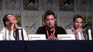 Robert Duncan at Comic-Con 2011