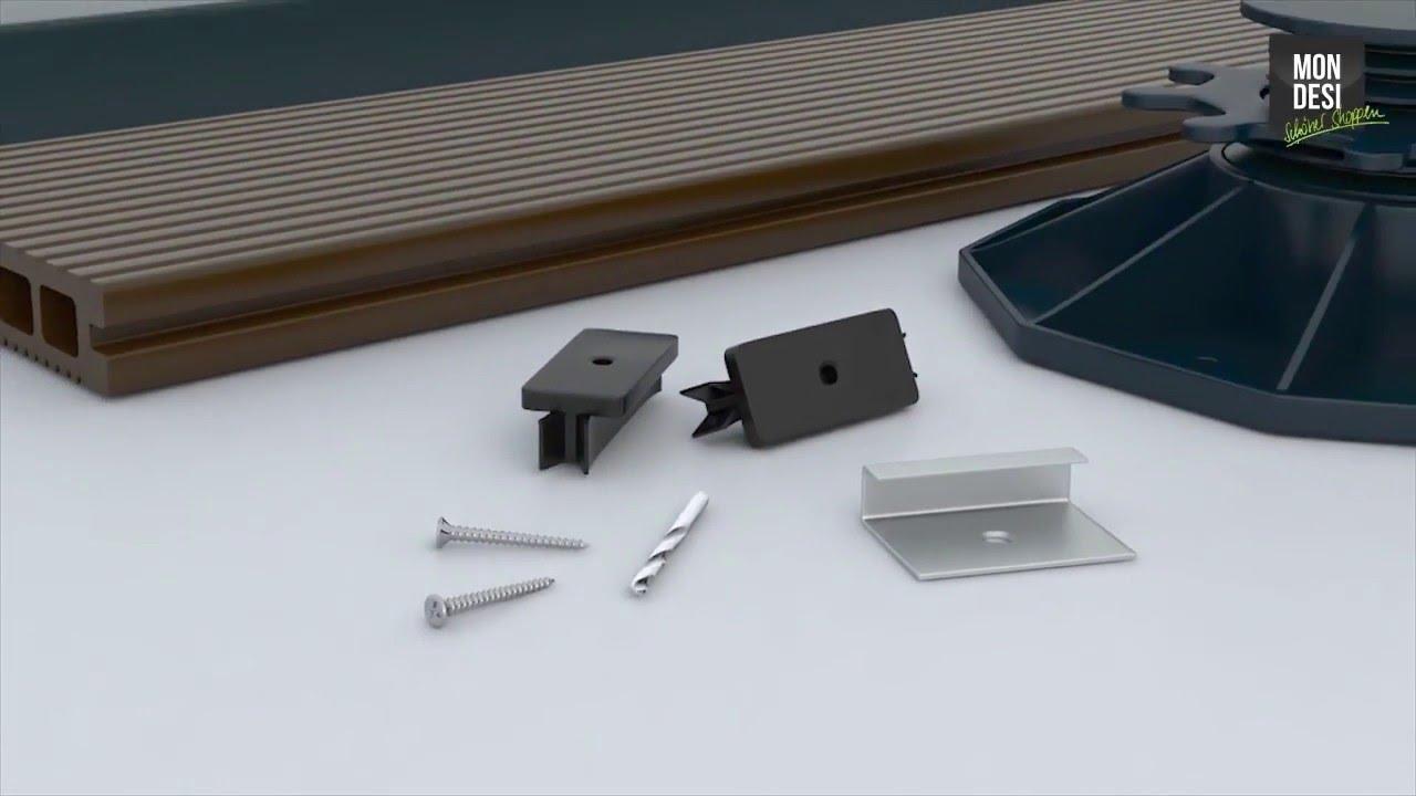 Mondesi Wpc Terrassendielen Verlegevideo - Youtube