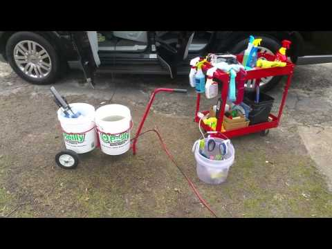Bucket Buddy & 3D carpet and upholstery cleaning pt1