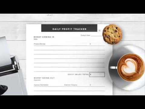 The Strong Business Planner: Printable Planner for Online Entrepreneurs