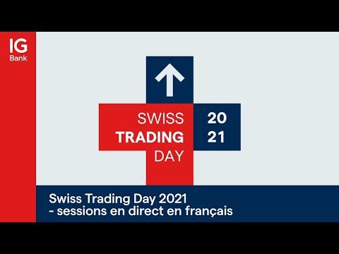 Swiss Trading Day 2021 - sessions en direct en français