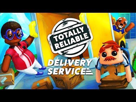 Totally reliable delivery service ♠ Устроился работать в почту России ♠ симулятор почтальона