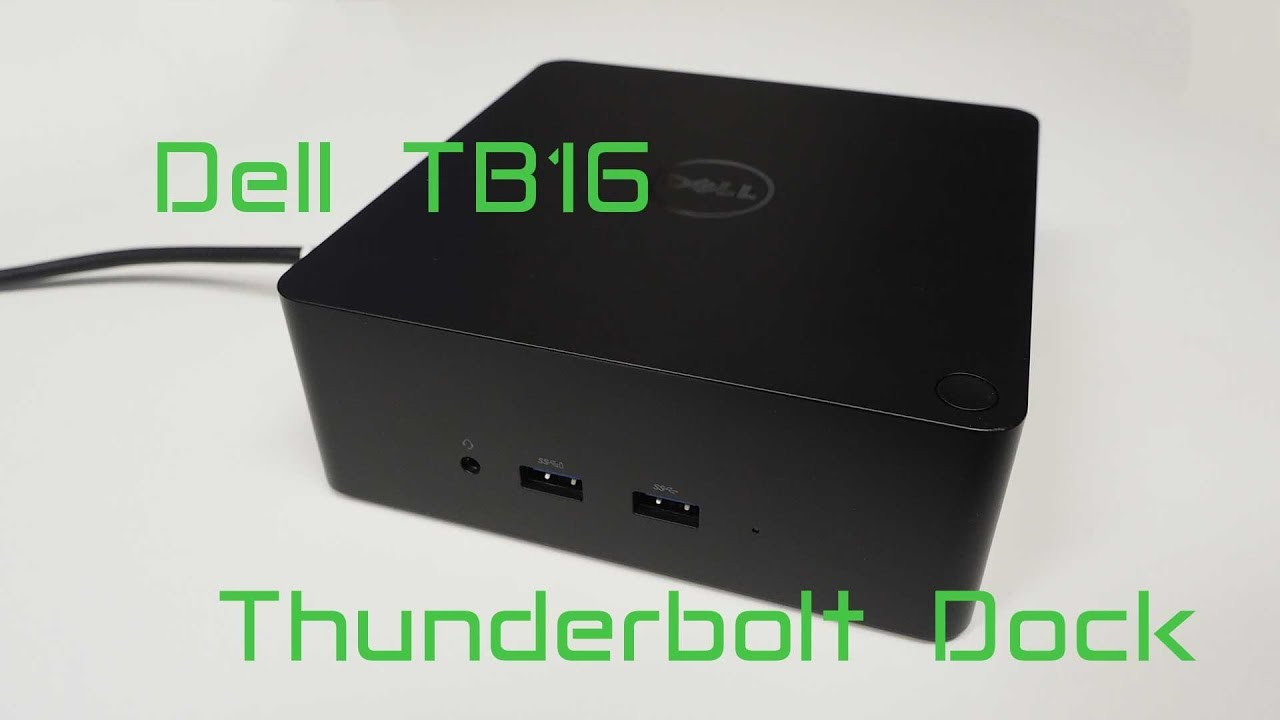 Dell TB16 thunderbolt dock review, Macbook Pro experience