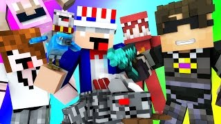 Minecraft Mini-Game : DO NOT LAUGH! (EARL'S RESTUARANT FIRE, RED DIES A LOT) w/ Facecam