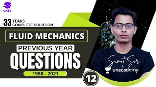 FM Previous Year Question Series -12   | 1988-2021  Chemical Engineering  | Sumit  Sir