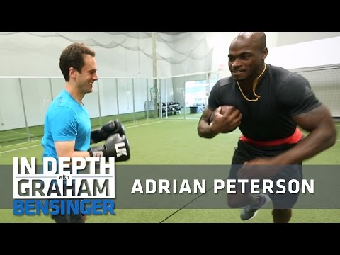 Adrian Peterson: My new gym and workout routine