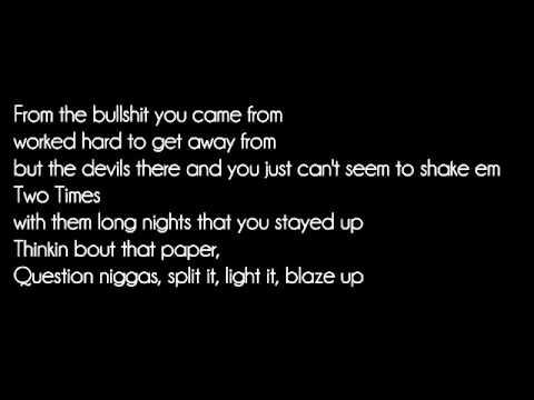 Mind of a stoner-  MGK (Lyrics on the screen)