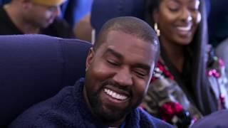 Kanye West Airpool Karaoke - Music Version