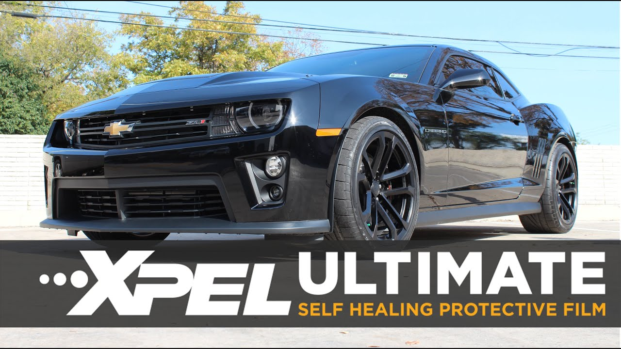 Camaro Zl1 Full Auto Body Xpel Ultimate Clear Bra Install