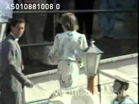 Princess Diana's honeymoon on Britannia