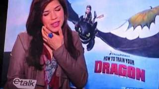 The Cast Of How To Train Your Dragon On Etalk