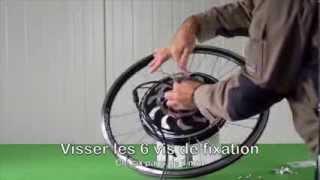 Vidéo de montage complète d'un moteur Magic Pie 3 électrique (roue arrière) pour vélo
