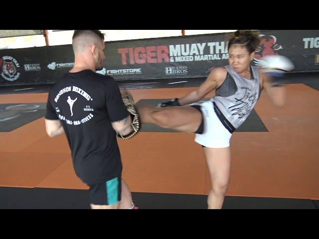 Power Kicks: Thai UFC Fighter Loma Lookboonmee