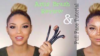 Artis Brush Review: Full Face Tutorial || MakeupbyDenise