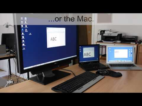 Mouse and Keyboard Sharing for Windows AND Mac OSX - YouTube
