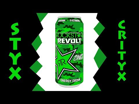 ROCKSTAR Revolt Killer Citrus - Energy Drink Test (SC#217)