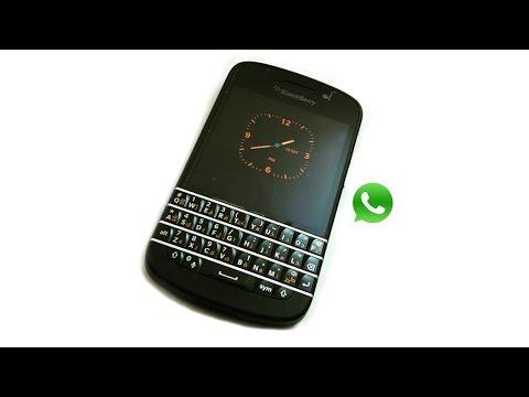 How to install WhatsApp on BlackBerry Q10 ❤♥ TheKomalSoni ♥❤