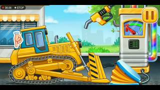 Tractor Car Garage | Learning Video For Toddlers | Kids Shows | Cartoon #02