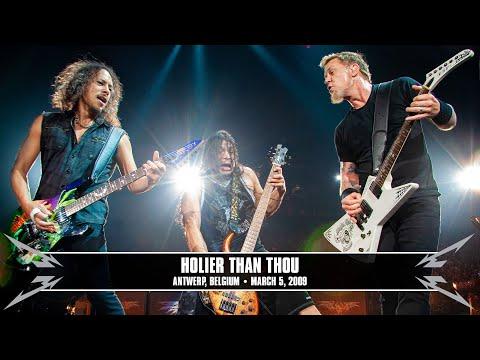 Metallica: Holier Than Thou (MetOnTour - Antwerp, Belgium - 2009) Thumbnail image