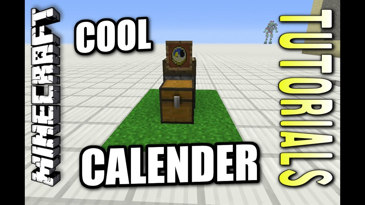 Minecraft ps4 basic calendar how to tutorial ps3 xbox minecraft ps4 basic calendar how to tutorial ps3 xbox ccuart Image collections