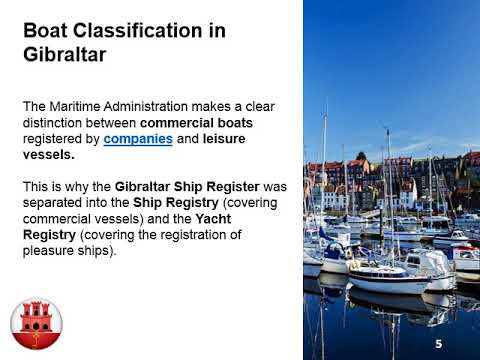 Ship Registration in Gibraltar