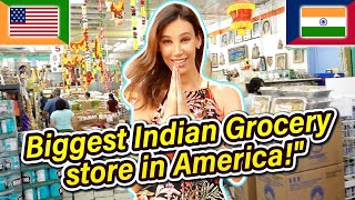 INDIA in America! Visiting LA's Biggest Indian Grocery Store